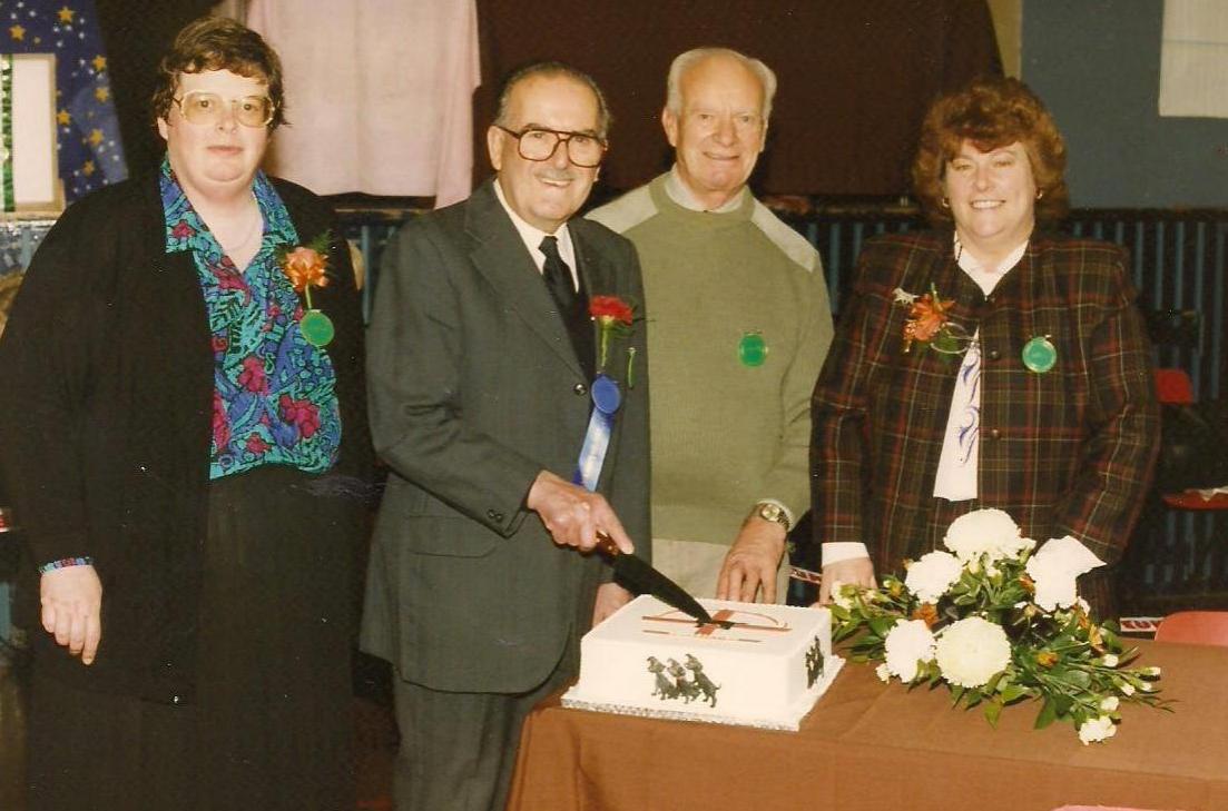 Open Show - November 1996. Elaine Whiting, George Lancaster, Peter Forster, Sandra Kitching