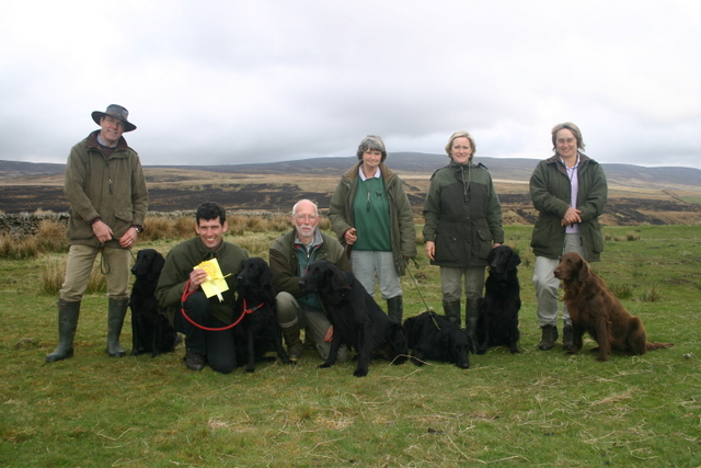 Malcolm Awty, Chris Hewison, Keith Aldred, Gill Griffin, Gill Awty, Caroline Hewison