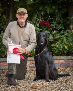 Novice Dog / Novice Handler : 1st Derek Bull with Keepersway Alana